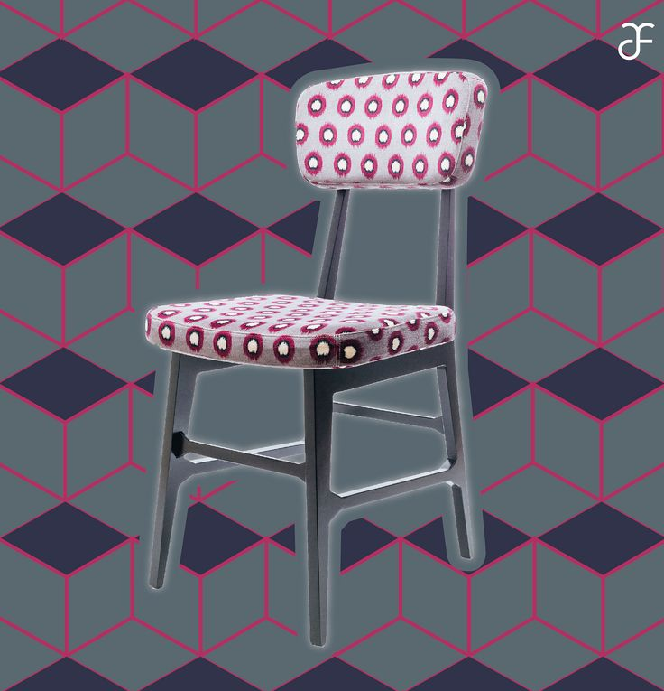 #Virna #chair, design by #ValentinaFontana for #altreforme, #Novecento collection, #interior #home #decor #homedecor #furniture #aluminium #woweffect #madeinItaly #pattern #decoration