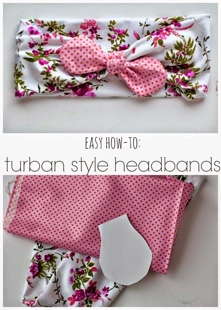 Girl Charlee Fabrics Tutorial Tuesday :: DIY Turban Style Headband by Simple As That