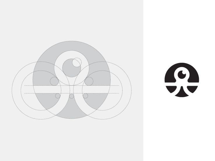 Octopus - Logotipo de la cuadrícula