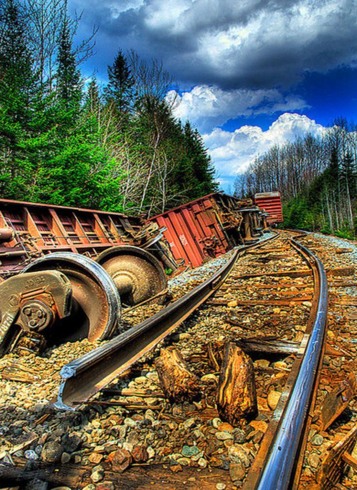 Train wreck in Cleveland | File name: 08_06_000497 Title ...  |Rail Road Train Wreck