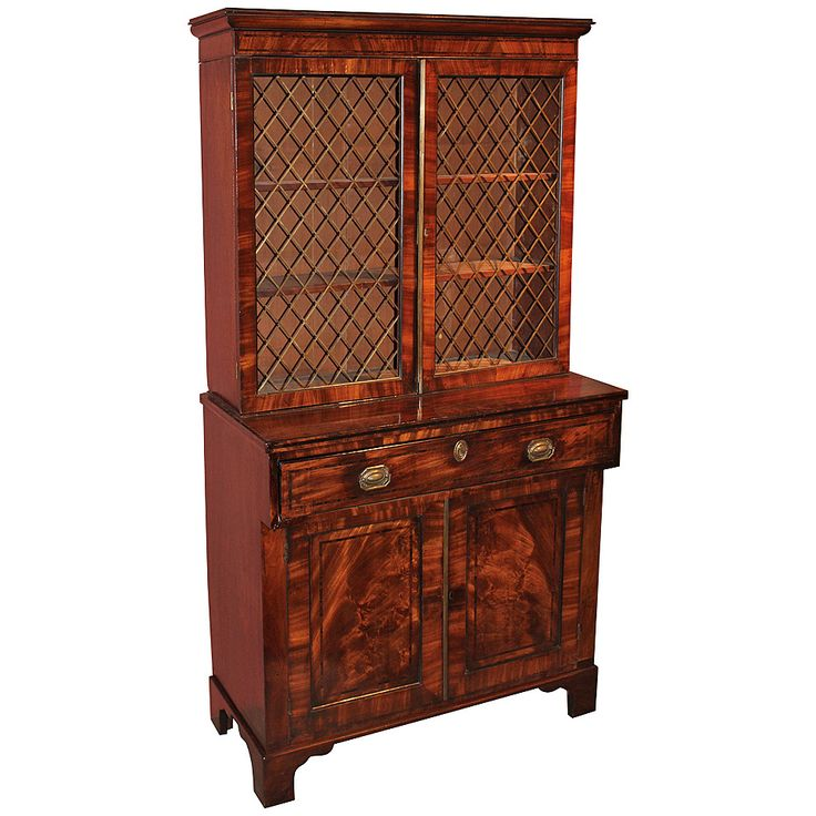 English Regency Mahogany