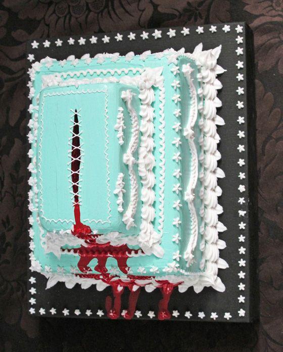 PERFECT WEDDING CAKE  Scott Hove - Cakeland - Sculture di torte inquietanti