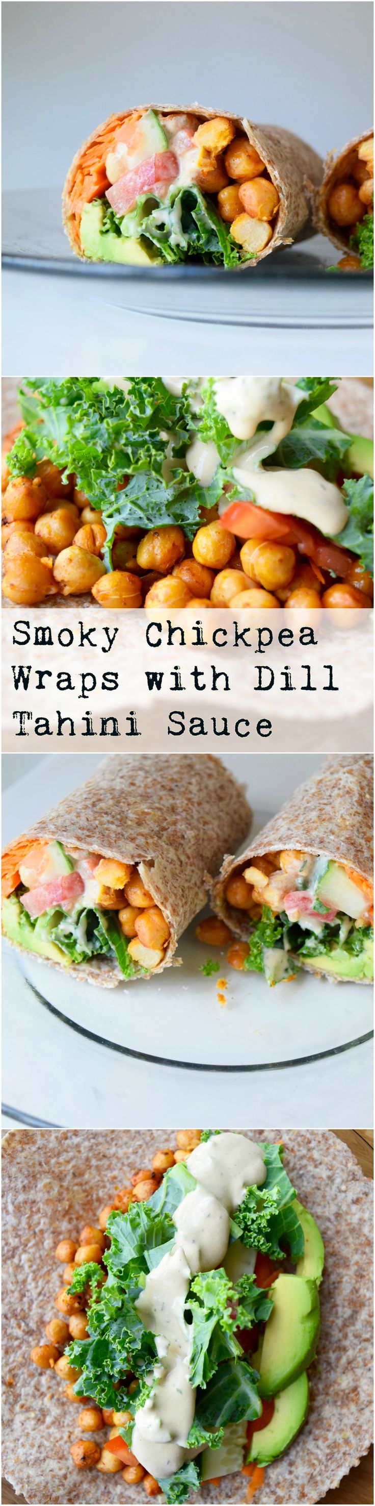 This vegan wrap is super easy and insanely delicious!