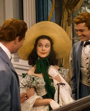 Vivien Leigh as Scarlett O'Hara in Gone With The Wind (1939) by henrietta
