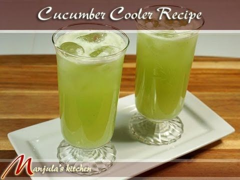 Cucumber Cooler Recipe.  Sounds like a great drink for a hot day.