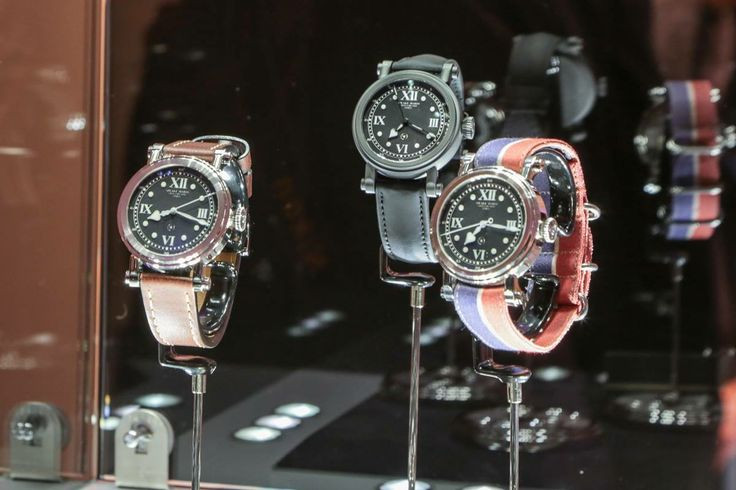 Speake-Marin Spirit collection at SalonQP in London http://www.salonqp.com/