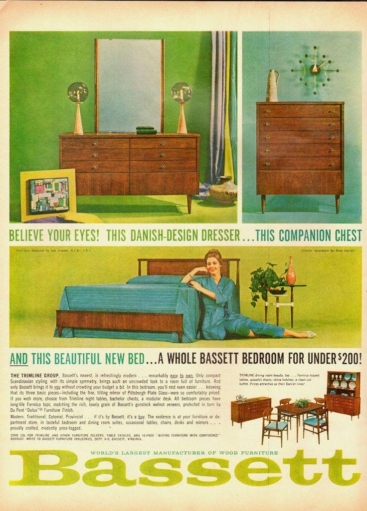 20 Best Mcm Bassett Furniture Images On Pinterest