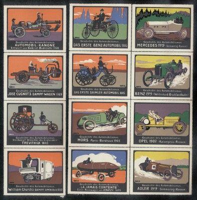 Storia dellautomobilismo, ca. 1910
