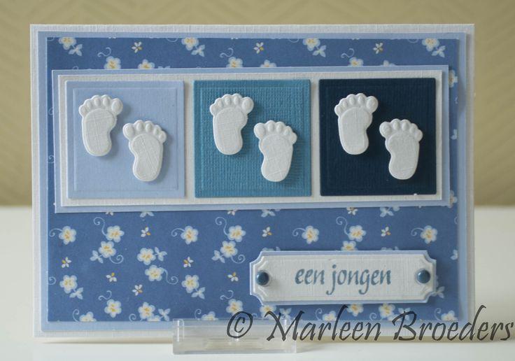 Mal voetjes: Marianne Design