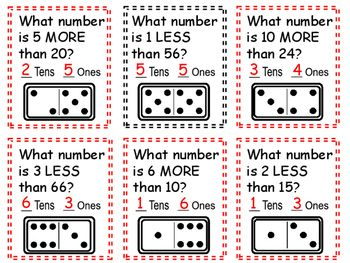 Math Task Cards For Grades 1-4 Using Dominoes: Basic Operations &Problem Solving