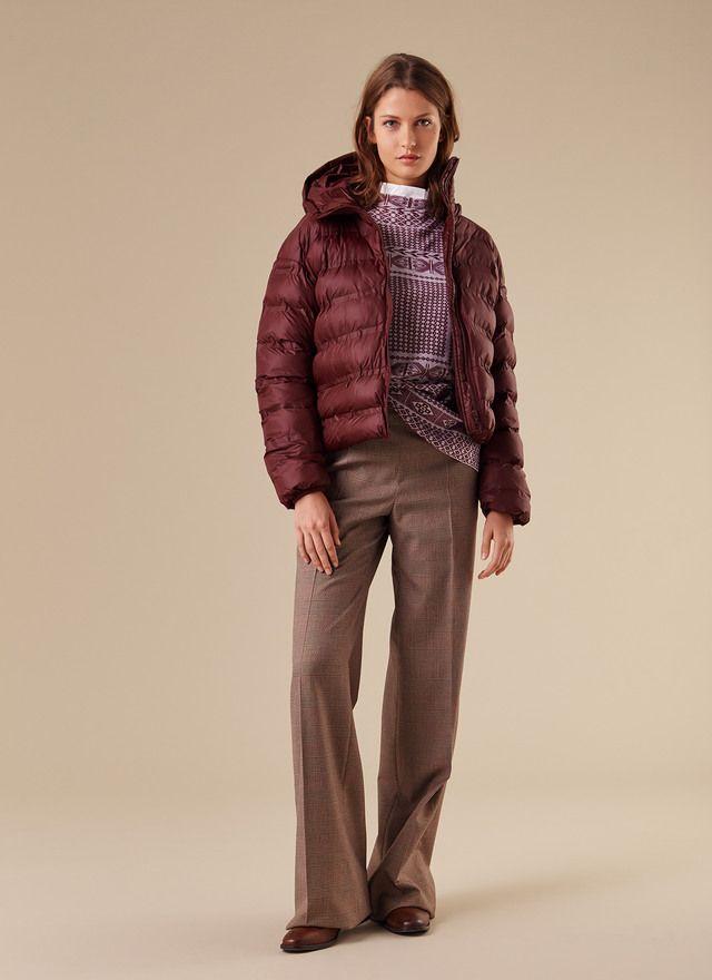Anorak acolchado con capucha - AD MUJER | Adolfo Dominguez shop online