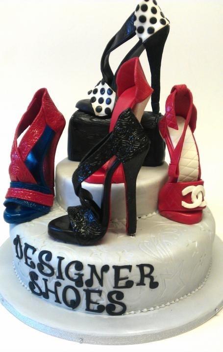 Fabulous Shoe inspired Cake!!