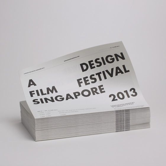 'A Design Film Festival Singapore 2013'