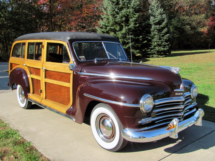 1947 Plymouth Special Deluxe Station Wagon Woodie Woody