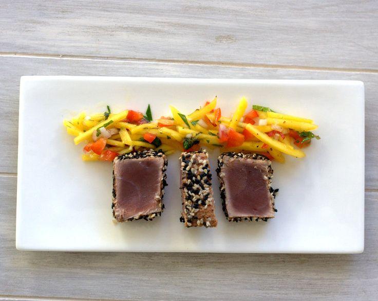Salat fisch vorspeise