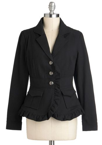 Victorian Literature Jacket, #ModCloth - super cute def a statement piece, I think $65 is a good price...