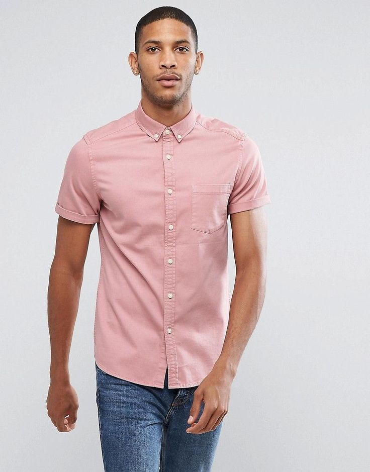Get this Asos's denim shirt now! Click for more details. Worldwide shipping. ASOS Stretch Slim Denim Shirt In Pink - Pink: Shirt by ASOS, Lightweight cotton, Added stretch for comfort, Button-down collar, Button placket, Chest pocket, Slim fit - cut close to the body, Machine wash, 98% Cotton, 2% Elastane, Our model wears a size Medium and is 189cm/6'2.5 tall. ASOS menswear shuts down the new season with the latest trends and the coolest products, designed in London and sold across the…