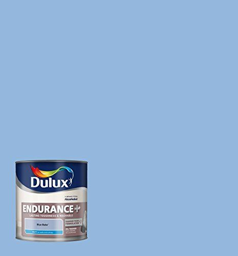 Dulux Endurance Matt Paint for Walls, 2.5 L - Blue Babe
