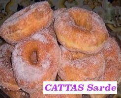CATTAS Sarde ≋ Uno fra i tanti dolci tradizionali italiani preparati durante il CARNEVALE - One of the many traditional Italian desserts prepared during CARNIVAL