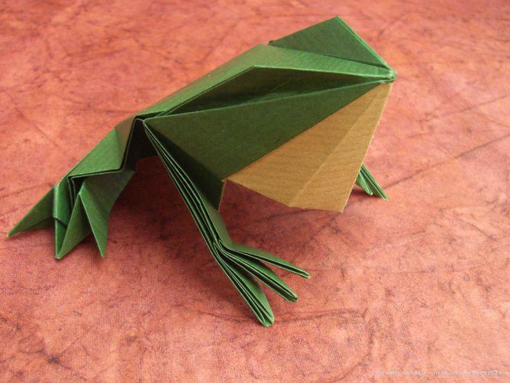 Photo origami grenouille                                                                                                                                                                                 Plus