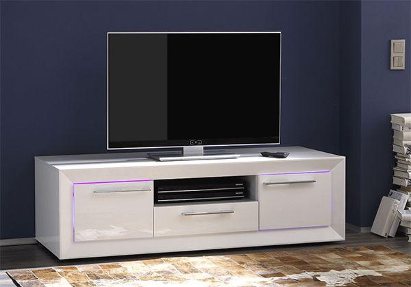Meuble TV ZENITH LED 140 cm