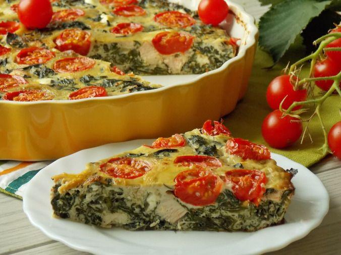 Bardzo proste i smaczne danie, które można podać na śniadanie albo lekki obiad. Frittata to pewnego rodzaju omlet, do którego można dodać ulubione warzywa. Użyłam tutaj szpinaku nowozelandzkiego, k…