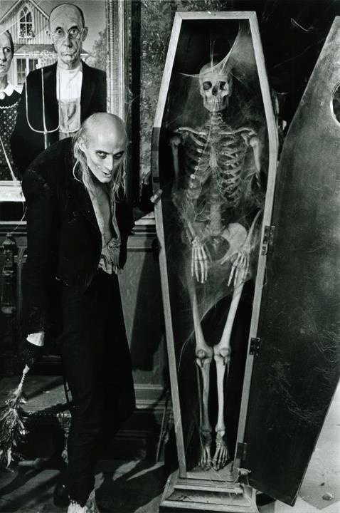 Riff Raff - A Handyman played by Richard O'Brien in The Rocky Horror Picture Show (1975).