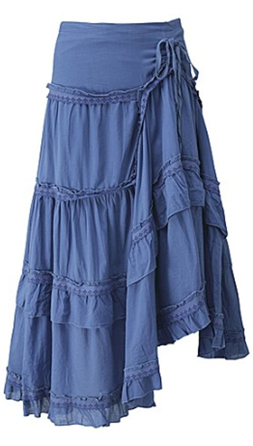 Boho Chic Gypsy Style Skirts & Dresses in Plus Sizes - (article) - http://boomerinas.com/2014/01/15/boho-chic-gypsy-style-skirts-dresses-in-plus-sizes/