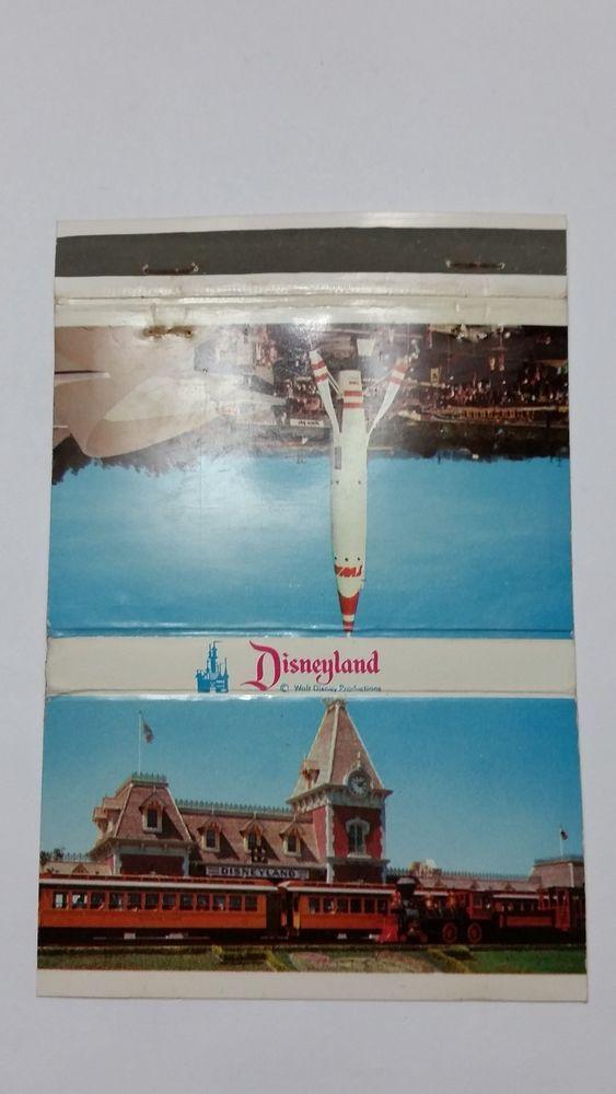 Disneyland ENTRANCE TO DISNEYLAND Matchbook Matchcover