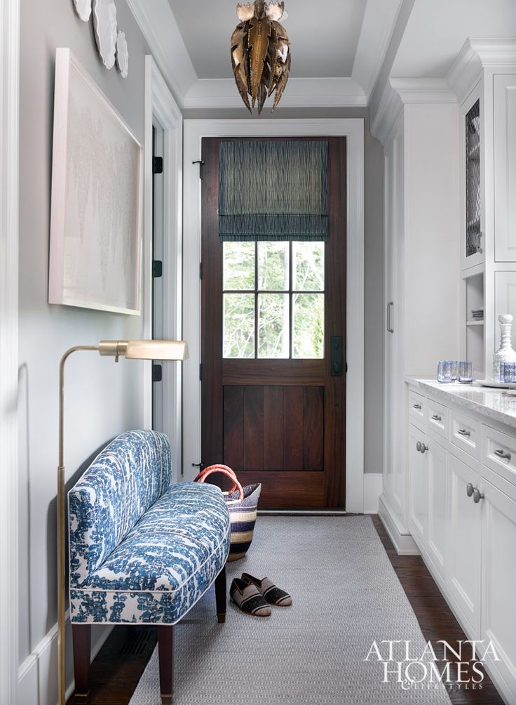 Foyer Powder And Laundry Design By James Wheeler J Wheeler Designs