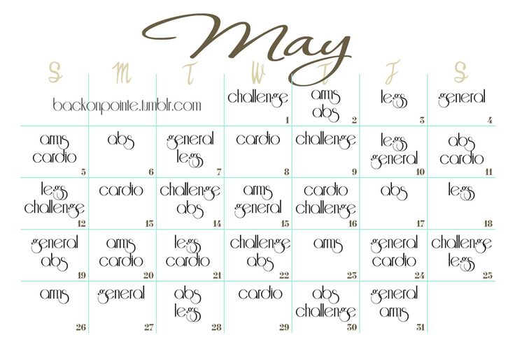 I'm actually going to try this for May I think!