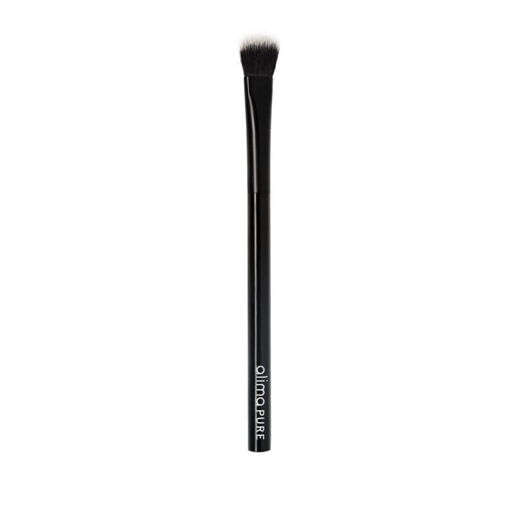 The Alima Pure Allover Shadow Brush is go-to eye makeup brush for gently  sweeping pigment onto the lids and browbone. Available at Wren and Wild. cd26ee7dc43