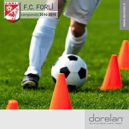Appassionati di #sport, avete sentito la novità?  #Dorelan scende in campo come Main Sponsor del #ForlìCalcio per la stagione 2014-2015.  Appuntamento allo stadio!   #calcio #emozionidorelan #prontialfischiodinizio