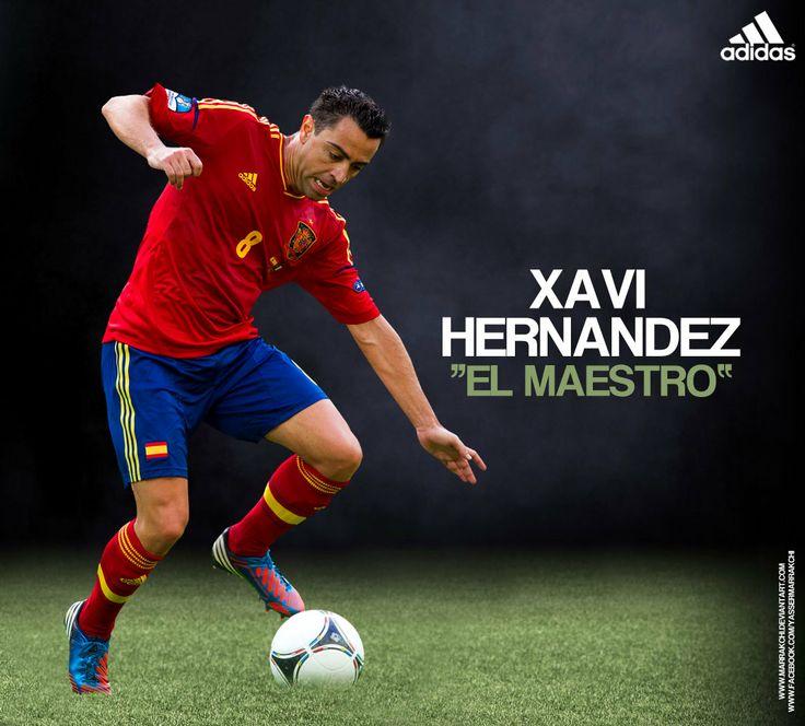Xavi Hernandez retired from spanish side. #GRACIASXAVI #ThankYouXAVI
