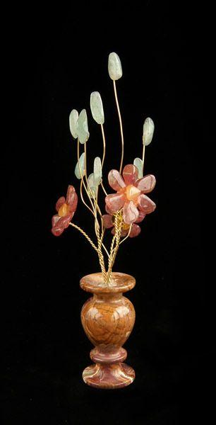 Цветы из камня - Авантюриновый