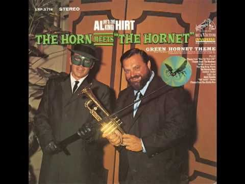 Sometimes no matter what I try I just can't seem to get myself motivated enough to put my foot out the door and greet the day. That is until I put on The Green Hornet theme by Al Hirt…because when that trumpet starts going so does my brain and that cloudy fog that surrounds me is blown away. Better than a cup of coffee!