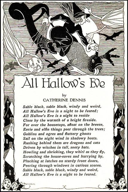 vintage halloween sayings