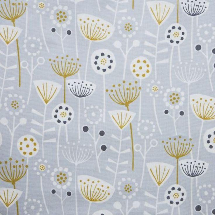 Bergen grey oilcloth tablecloth oil cloth oilcloth