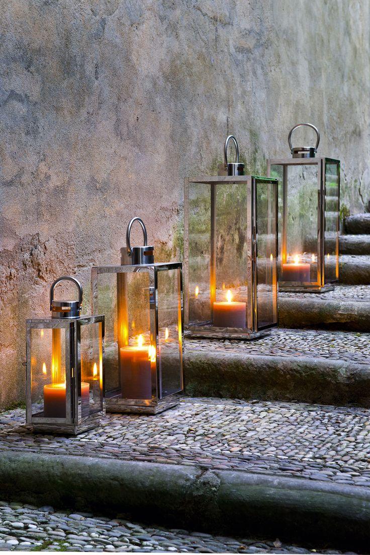 Elegant Auch der Sommer braucht seine Kerzen Laternen aus unserem Gartenkatalog http