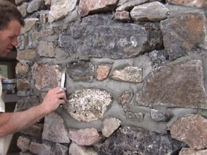 Stone Construction, with and without mortar: build stone walls, houses, barns fireplaces, entryways, bridges, seats, steps, walls, waterfalls, or a stone barbecue.