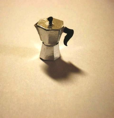 dollhouse italian coffee pot by spirtokoutominis on Etsy