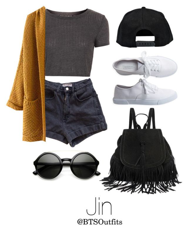 """Warped Tour with Jin"" by btsoutfits ❤ liked on Polyvore featuring Topshop, American Apparel, Boohoo and Aéropostale"
