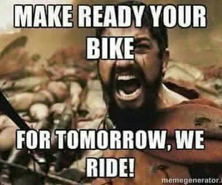 I'm on a bike team and this is so true