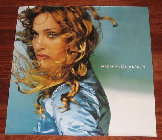 Madonna Rare RAY OF LIGHT Original 1998 Album Cover