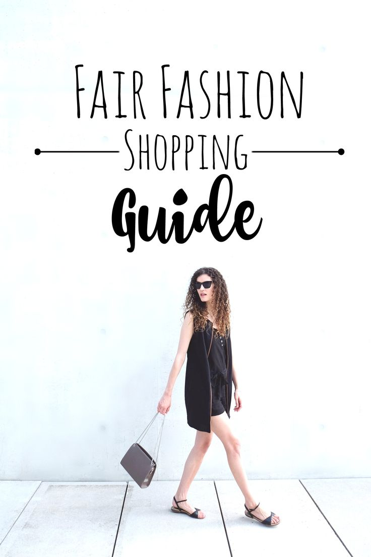 For the ethical and conscious consumer: A detailed guide on where to shop stylish, modern and long lasting fair fashion.