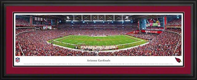 Arizona Cardinals Framed Panoramic Poster Print - University of Phoenix Stadium