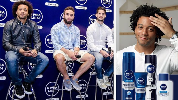 Nivea Men partnering with Real Madrid Football club. Real Madrid football club have just signed a five year contract set to reach over 70 countries. This move proves that the men grooming industry is increasingly taking a bite of the beauty market. #malegrooming