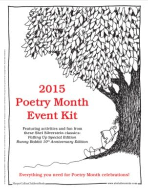 Tons of free printables and activities to go along with Shel Silverstein books