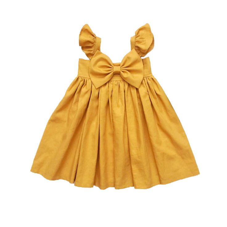 Baby Fall Dress, Baby Fall Outfit, Girls Mustard Fall Dress, Girls Fall Dress, Toddler Holiday Outfit, Baby Fall Thanksgiving Dress by QueeniesKids on Etsy https://www.etsy.com/listing/551051462/baby-fall-dress-baby-fall-outfit-girls