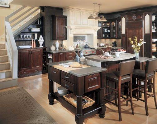 Madison cathedral maple espresso and mocha creme for Cathedral style kitchen cabinets